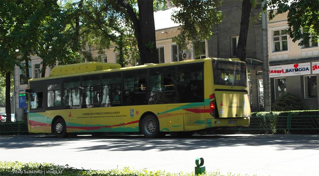 Китайский автобус, Бишкек 2018