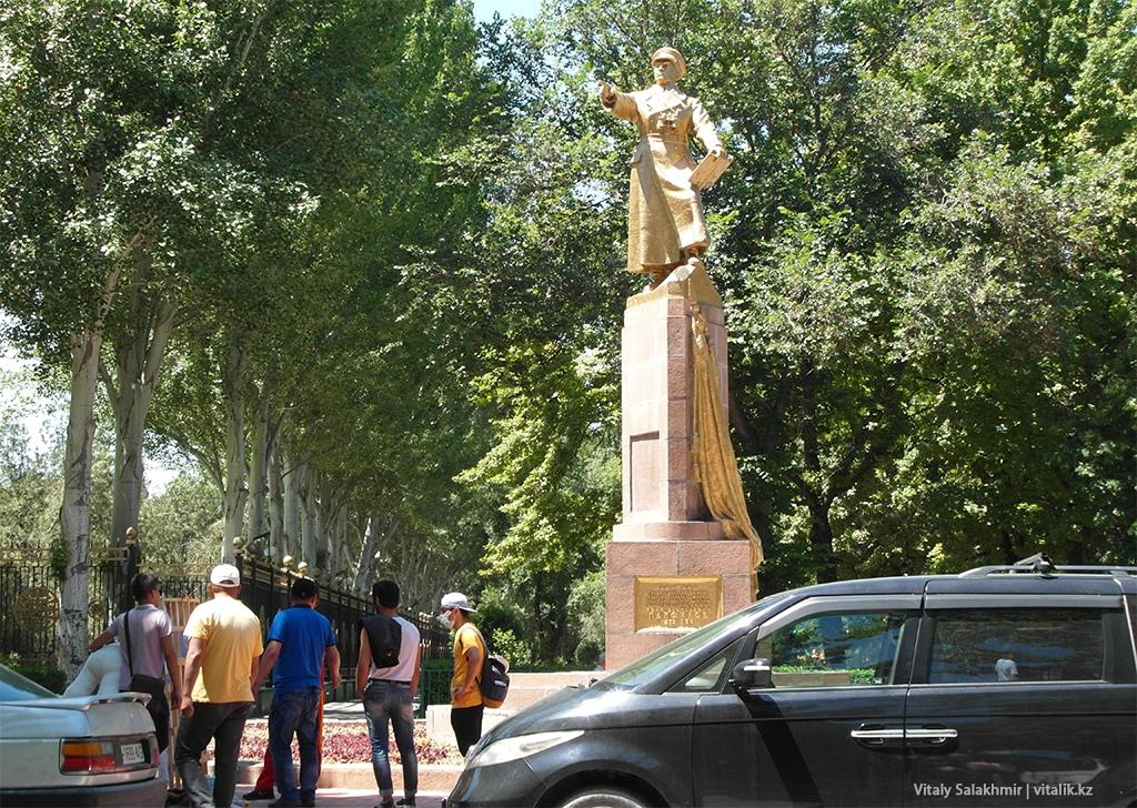 Памятник Панфилову, Бишкек 2018
