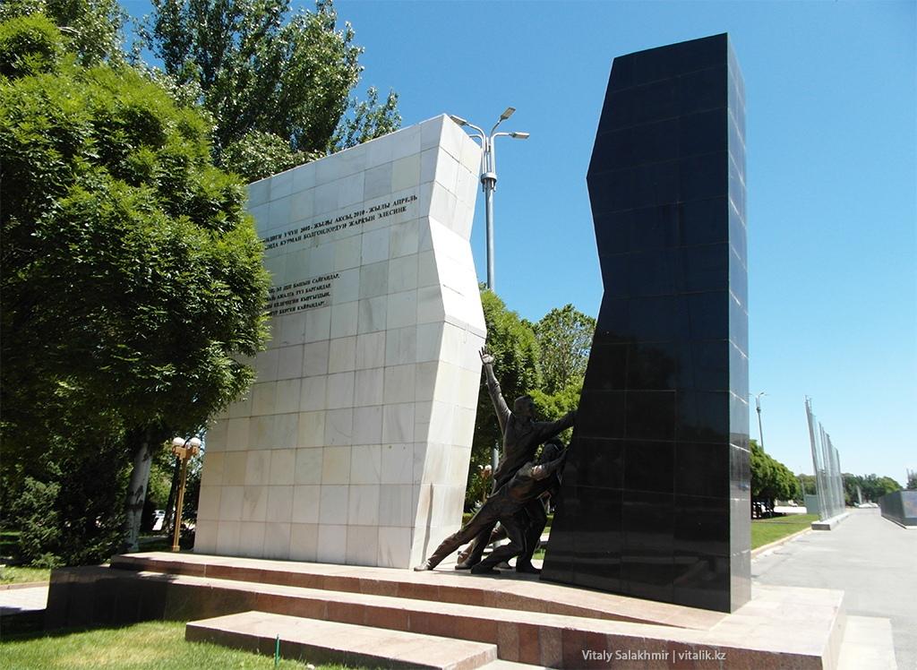 Памятник революционерам, Бишкек 2018
