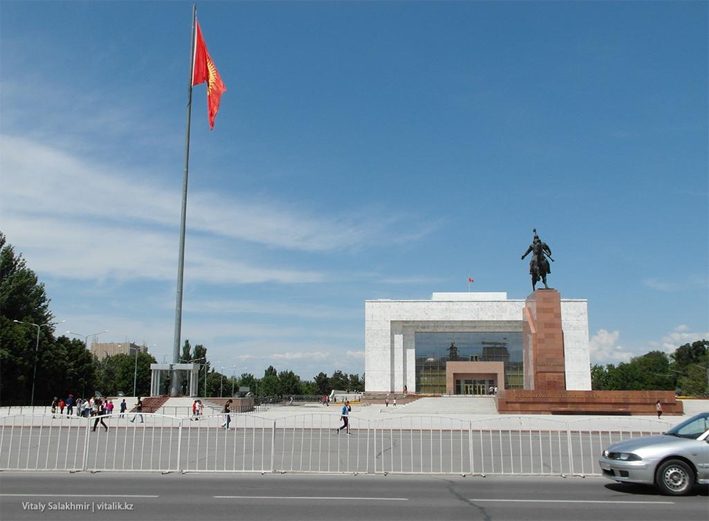 Площадь Ала-Тоо 2018, Бишкек