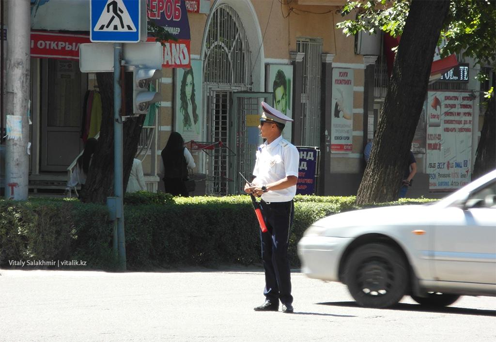 Полиция, Бишкек 2018