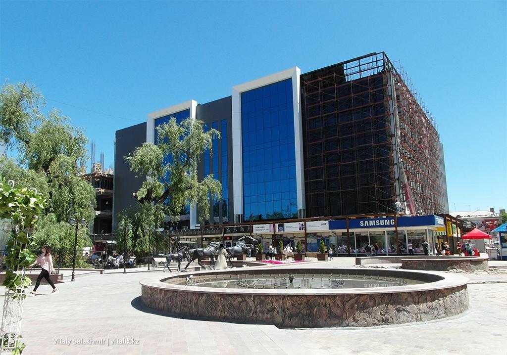 Ремонт ЦУМ Бишкек 2018