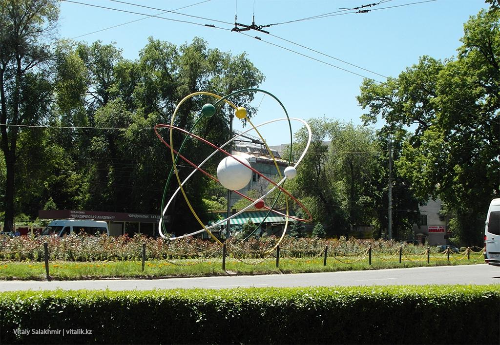 Скульптура, Бишкек 2018