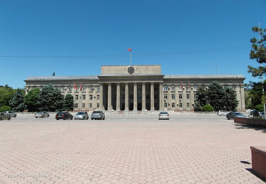 Старая площадь, Бишкек 2018