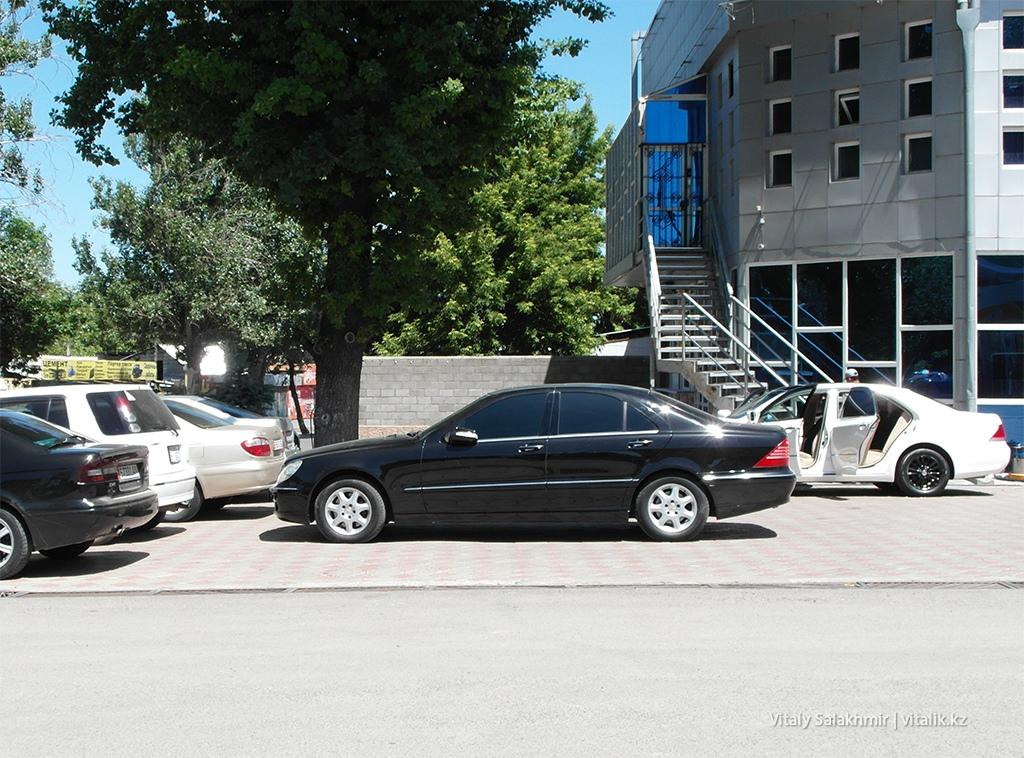 Тонировка автомобиля передние стекла Бишкек 2018