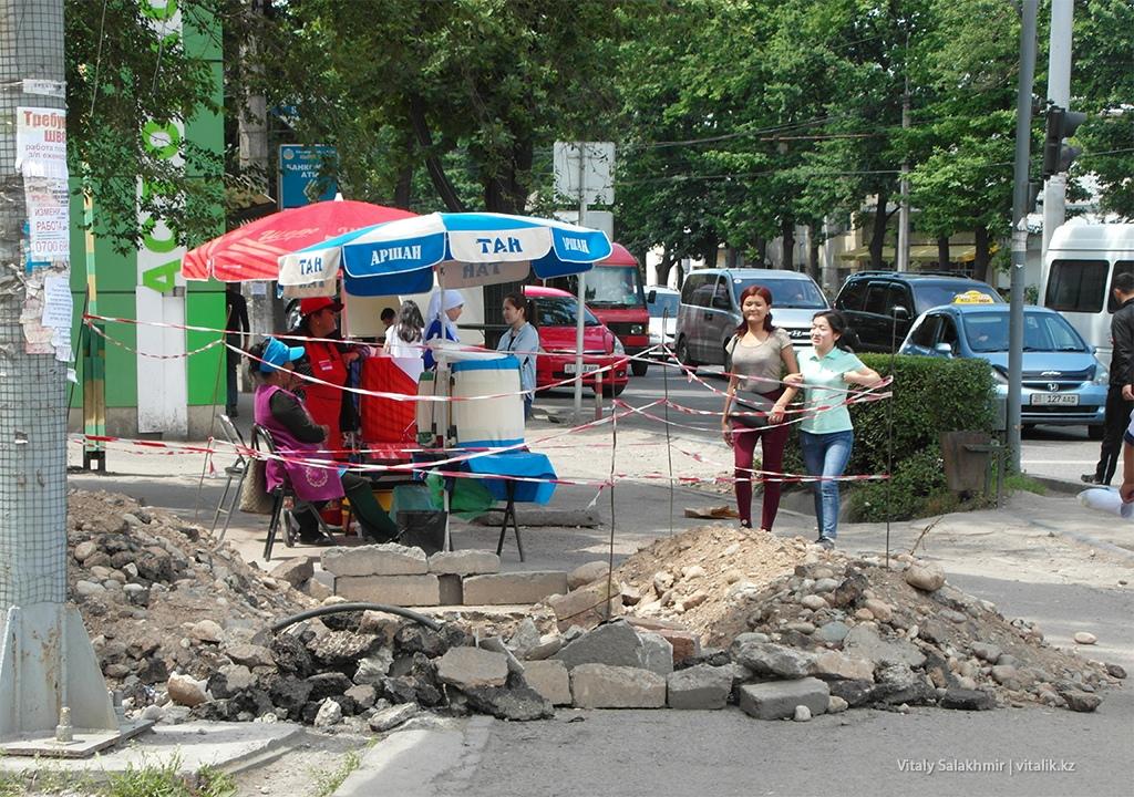 Шоро на улицах Бишкека