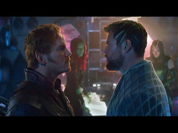 AVENGERS INFINITY WAR - THOR STAR-LORD FEUD [TV SPOT]