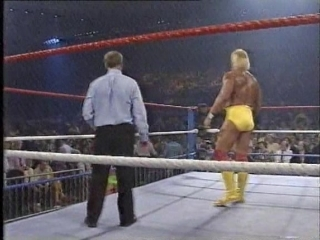 10.10.1989 - Hulk Hogan VS Randy Savage