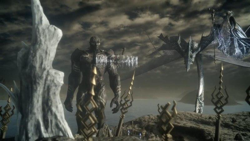 FF15【神影島】召喚獣たちが集う島(五神登場ムービーシーン) FINAL FANTASY 15 戦友