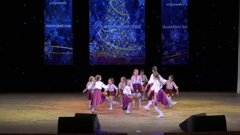 Манго Харьков танцевальное рождество. Бетти выступает