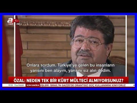Rahmetli Turgut Özal Avrupanın İkiyüzlülüğünü Anlatıyor