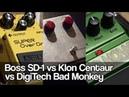 Boss SD-1, Klon Centaur and DigiTech Bad Monkey all BEATLES tunes