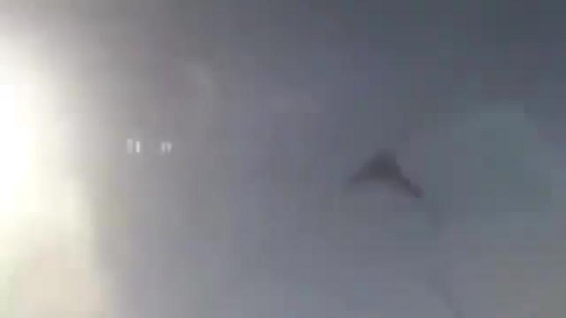 Удар сирийской авиации по боевикам в провинции Гута