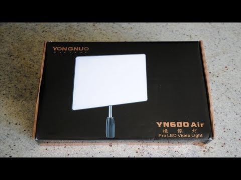 Обзор студийного света YONGNUO YN600 Air Выпуск №284