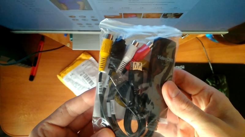 USB Capture card VHS - Карта захвата видеомагнитофона и тд RCA