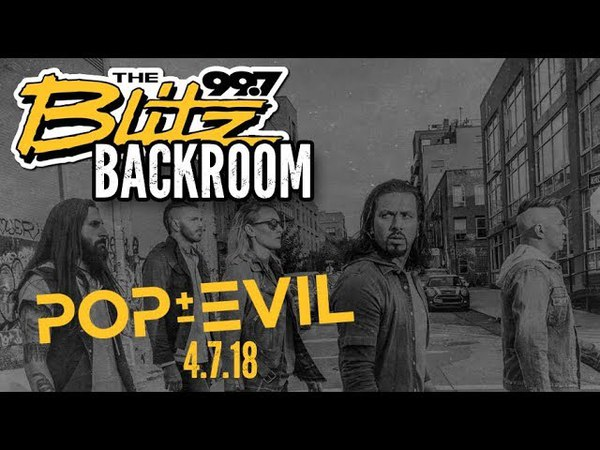 Blitz Backroom Pop Evil Waking Lions