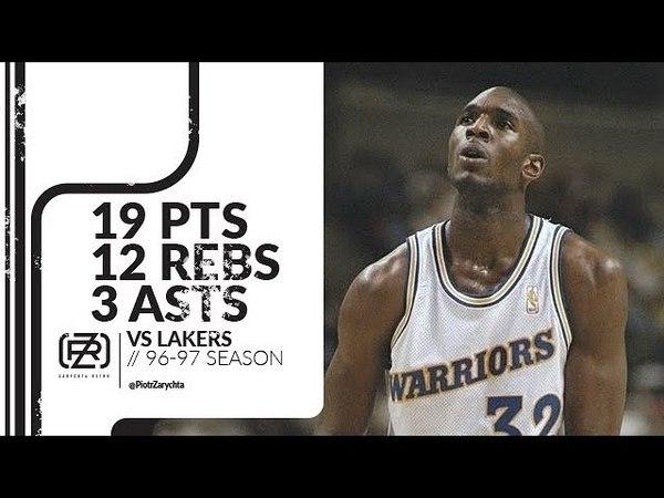Joe Smith 19 pts 12 rebs 3 asts vs Lakers 96/97 season