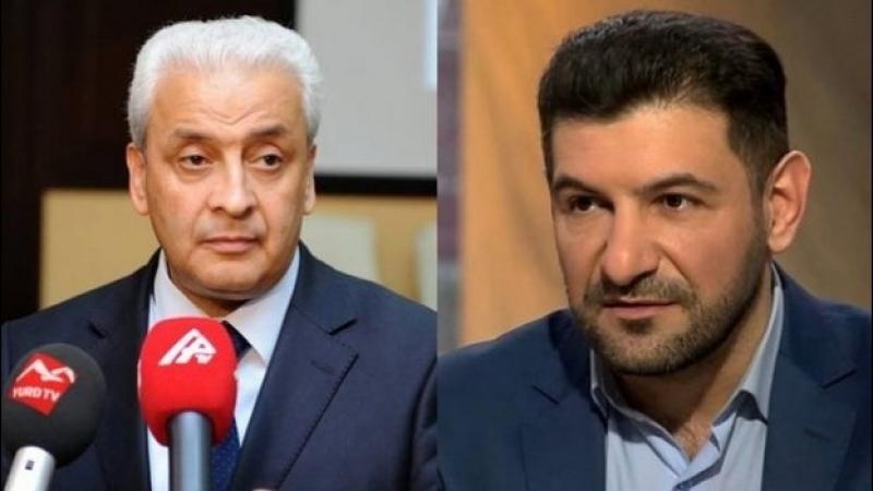 Прямой эфир журналиста Фуада Аббасова с председателем Организации Освобождения Карабаха Акиф Наги