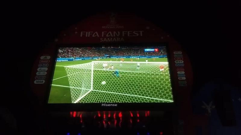 Россия 3-1 Египет ⚽ чм2018 smr2018 FIFAFanFest FIFAFanFestSamara плКуйбышева Самара