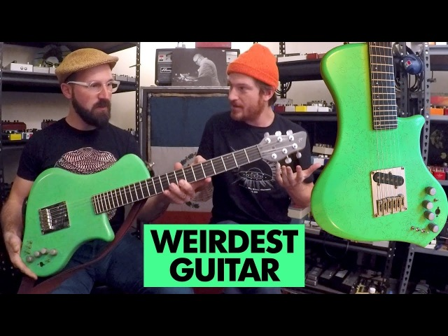 Pedals and Effects The Worlds Strangest Weirdest Guitar with Spencer Seim