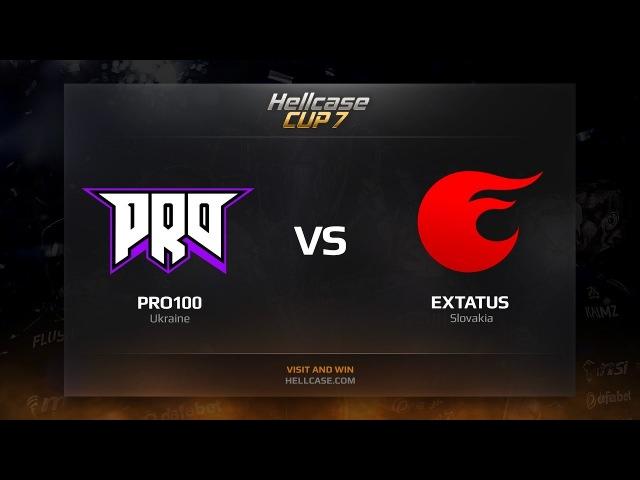 Pro100 vs eXtatus HellCase Cup Season 7