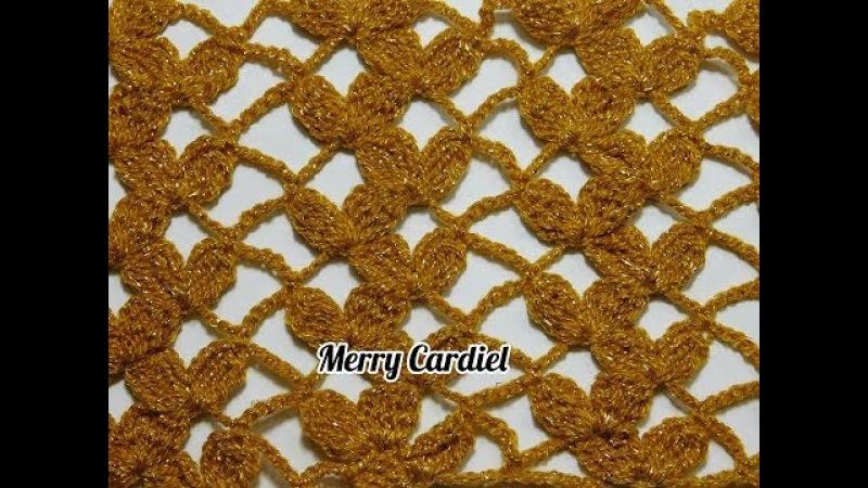 Como tejer red de pétalos a crochet