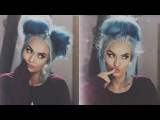 How to MESSY BUN Super Simple (No HairsprayDonutsSocks)