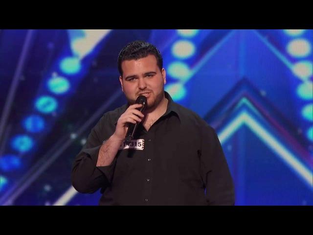 Sal Valentinetti   America's Got Talent 2016 Auditions