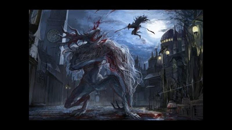 10 Босс Викарий Амелия и Эйлин-ворон охотник Bloodborne collector s edition on PS4
