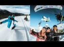 Snowboarding and skiing in Val Thorens with the GoPro Family