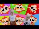 My Bananas The Monkey Peels Bananas Animal Songs Songs for Children Songs Baby Nursery Rhymes Songs