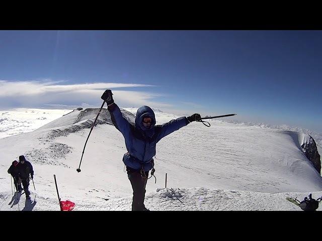 День штурма вершины Эльбруса 5642 м. команда X-Guide