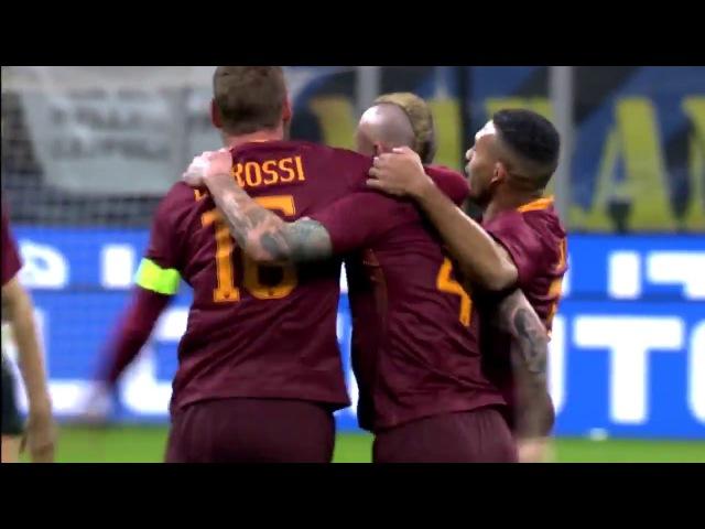 Топ 5 голов Ромы против Интера на Сан Сиро / AS Roma