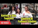 Katrina Kaif And Alia Bhatt Spotted Together With Neha Dhupia  Famous Studios