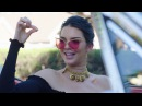 CRUISING WITH KENDALL: Kendall Jenner takes Derek Blasberg for a spin