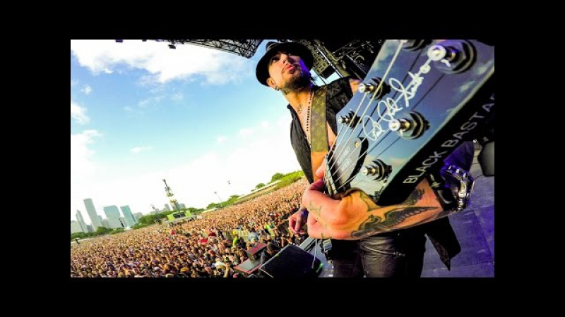 GoPro Music: Dave Navarro Guitar Cam - Jane's Addiction Live at Lollapalooza 2016