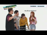Taelice in weekly idol together (part3) [ can BTS V get a kiss from Blackpink Lisa?] • edit