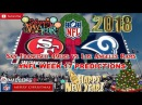 San Francisco 49ers vs Los Angeles Rams | #NFL WEEK 17 | Predictions Madden 18