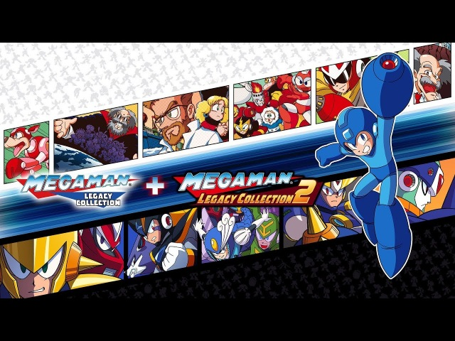 Mega Man Legacy Collection 1 2 Switch Announce Trailer