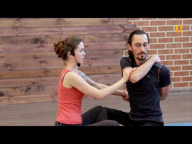 Заряд бодрости 35 Парная йога