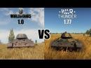 World Of Tanks 1 0 Vs War Thunder 1 77