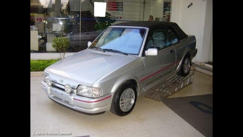 Ford Escort XR3 Conversível $ bilhão 1.799.000.000,00 Versailles Reginaldo de Campinas