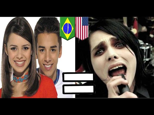🔴 As Músicas Brasileiras que copiam as Internacionais que você não sabia!! Latino é santo!