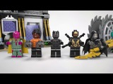 Corvus Glaive Thresher Attack - LEGO Marvel Super Heroes - 76103 Product Animation