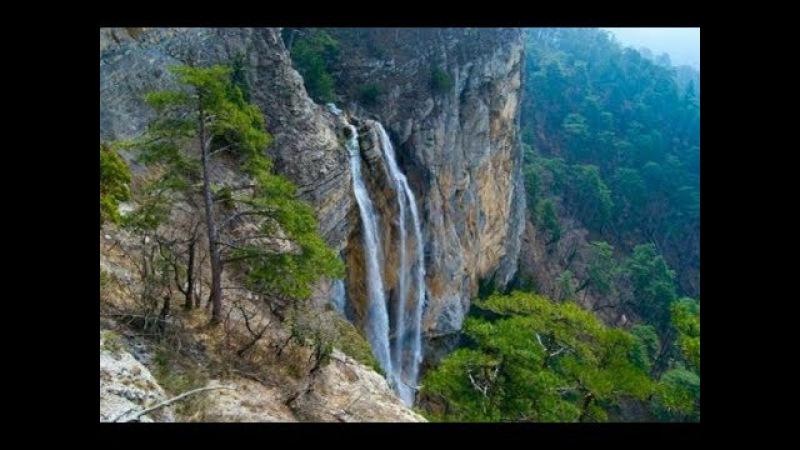 Водопад Учан - Су снизу и сверху