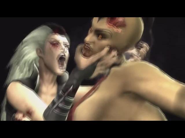 Sindel And Black Canary Screams