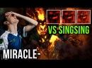 Miracle Shadow Fiend vs SingSing Phantom Lancer Dota 2