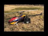 Alan Szabo Jr. ALIGN Trex 700X at the field 12/23/17