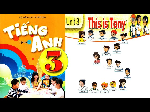 Tiếng Anh Lớp 3: UNIT 3 THIS IS TONY - FullHD 1080P
