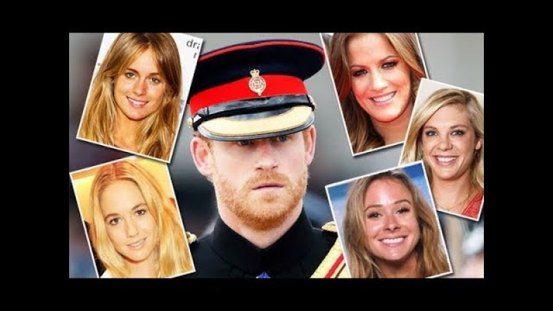 Prince Harry's 10 Ex Trans-girlfriends